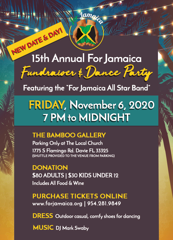 2020 For Jamaica Fundraiser